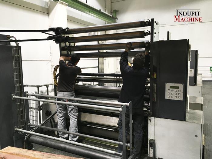 Montaje mecanico de maquinaria industrial
