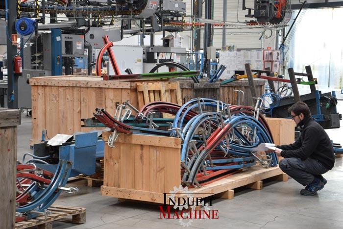 Organización de material mecánico y eléctrico