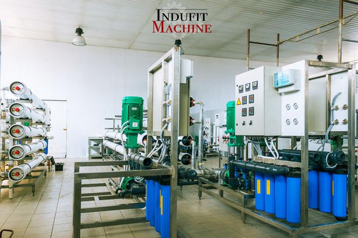 Mise en marche de machines industrielles