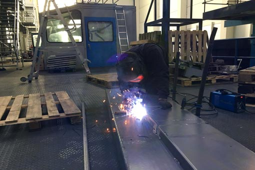 Retrofit rénovation dans une usine de production