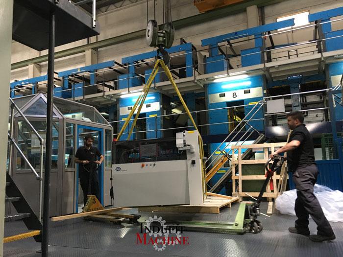 Démantèlement et assemblage de machines industrielles