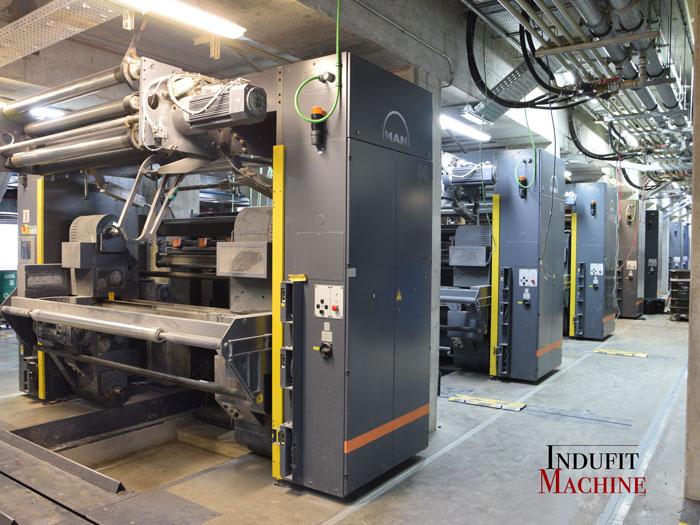 Vente et transfert de machines de bobinage