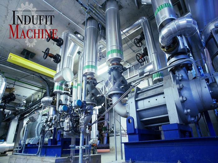Panne dans l'installation industrielle