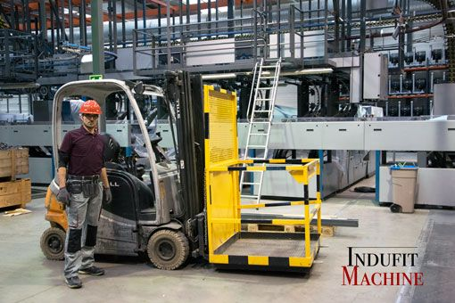Transferts de machines industrielles
