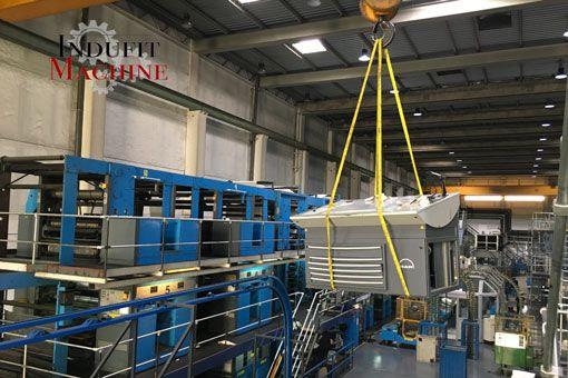 Transfert de machines industrielles